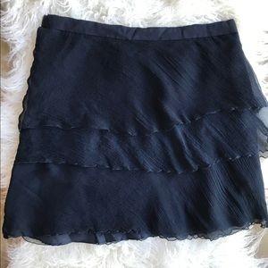 🌵NEW! L'AGENCE ruffled blue skirt from Barney's